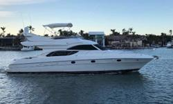 This beautiful 2006 Altamar 50 is located in Coconut Grove, Florida,and has been priced to sell quickly! She is powered by 2 Volvo Penta D9 V Drive Engines, packing 575 HP each. She has 2 Onan Generators, a 9kw and 10kw and 2 brand new air
