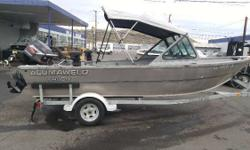 Nicely Equipped Mercury 60 HP 4-Stroke Motor 8 HP 4-Stroke Kicker Scotty Electric Downriggers Sun Top Lowrance Fish Finder Rod Holders Tie Bar Galvanized Trailer Engine(s): Fuel Type: Gas Engine Type: Other