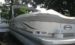 2006 Aqua Patio 240DF This Aqua Patio 240DF is a really clean Tri-Toon w/ a Yamaha 200 hp motor, please call for an Appt. to come see or make a deal! This boat comes w: Yamaha 200TXR 4 stroke Lowrance M68C FF/DF Bimini Top Full Playpen Cover Dual Battery