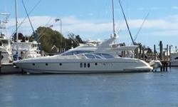 New Bimini Top Freedom Lift Updated Electronics New Carpet Nominal Length: 62' Length Overall: 65.1' Max Draft: 4.9' Engine(s): Fuel Type: Other Engine Type: Inboard Draft: 4 ft. 11 in. Beam: 17 ft. 3 in. Fuel tank capacity: 988 Water tank capacity: 264