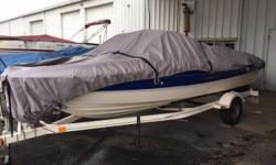 Really clean, good running Bayliner 185. This boat is ready to go, powered by a Mercury 3.0L engine. Get the really nice bow rider you have been looking for, comes with single axle trailer. Trades Considered. General Options BIMINI TOP BL0207A CERTIFIED