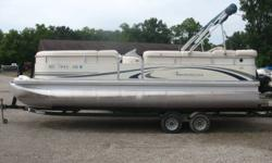 115 hp Yamaha 4 stroke  In good condition. Comes with tow bar, rear swim ladder, fish / depth finder, docking lights, bimini and a mooring cover. The trailer is not included. Nominal Length: 22' Stock number: N/A