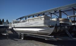 2006 Bentley 243 Tritoon, Yamaha F150, All boats water tested!Contact Logan at: 337-380-1566 BoatyardLogan@gmail.comWe offer competitive financing and take trades!2006 Bentley 243 Tri-toon powered with a Yamaha F150 Four stroke motorHeavy duty McClain