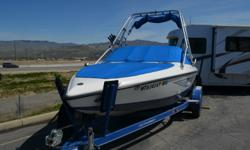 Less than 250 hours on this unit. Traded for a pontoon boat because they could no longer ski. Had custom made snap cover for it. Super clean and in excellent condition especially for the year. Kept inside! Stock number: 51271