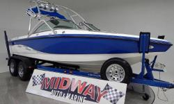Nationwide Delivery!! Perfect priced V-Drive! Centurion quality wakesurfing and wakeboarding. Under 200 hours!! Will not last long. Comes with WARRANTY!!! Ask about FREE DELIVERY! We have the largest selection of very clean used Boats in the Northwest!