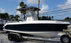 2006 23' 2301 Century Center Console, 250 Yamaha 4 Stroke, T-Top w/out riggers, Ray marine E80 GPS, Lowrance HDS 5 W/ Structure Scan, Lean Post W/Tackle Center, Stereo, Aluminum Performance Trailer. $32,900.00 Antonietti Marine 727-862-0776 Beam: 8 ft. 6