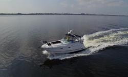 Looking for a sporty express cruiser that is loaded with options and meticulouslymaintained? Look no further! The Chaparral 310 Signature is a step above others. Built on a modified-V hull, her large cockpit seats 6, custom cockpit carpet,
