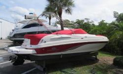3,000.00 Price Reduction on 11/16/2015 Options Motor is a 5.0 Litre MPI 260 Hp Drive is a Bravo 3 Bow Table Pressure Water /Transom Shower Fresh Water Anchor Custom Battery Dual Switch Vacuflush Toilet System JBL Stereo System AM/FM