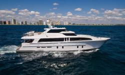 Cheoy Lee's Bravo 96' Motoryacht is the flagship of the Bravo Series. Amazingly strong, lightweight and quiet as a result of resin infused composite construction. The yacht also returns impressive speed and fuel economy levels. This salute