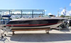 RETRO STYLE & COMFORT AVAILABLE AND READY FOR SALE With her retro styling and curved aft tumblehome, the 28 Corsair conveys the classic Chris Craft look of yesteryear. The Corsair is a high-quality runabout with a level of finish seldom seen in