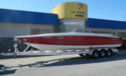 2006 Cobalt 343 ? Twin Mercruiser 525 EFI's ? XR Outdrives ? Stainless Steel Props ? Cockpit Canvas ? Stainless Steel Windshield ? Teak Step Plates ? Garmin GPS 182C w/ Color Map ? Livorsi Gauge Package w/ GPS Speedo with Tattle Tail ? Electric His and