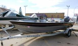 Powered by a 60hp Yamaha with trailer. Hin: CRC22951H506 Beam: 6 ft. 3 in. Hull color: Gray/Blk Stock number: IA 6732BC