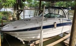 2006 Crownline Boats 270 CR Details- One owner since new Kept in boat house since day one $98000 when new Fresh water boat on amite river diversion louisiana Mercruiser 6.2mpi 320hp Bravo iii Only 175 hour 5kw kohler generator Garmin radar Gps Heading