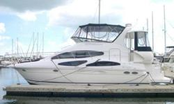 A VERY MOTIVATED OWNER WILL ENTERTAIN ALL REASONABLE OFFERS! At one time, buying a Motoryacht meant choosing a design that stressed volume over style, and home-like accommodations and comfort systems over speed. With the Cruisers 385 Motoryacht, the gap