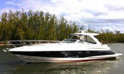 (LOCATION: Fort Lauderdale FL) The 45 Doral Alegria is a full-featured cruiser with size, style, luxurious accommodations, and Cummins performance. Designed to be a step above cruisers in her class, he features a large open cockpit with ample seating and