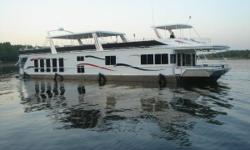 This 2006 Fantasy 100 Wide Body has everything you could possibly want in a houseboat and then some including over 70 upgrades from the factory. (See below) She has twin Mercruiser 5.0L MPI Bravo II engines with a total of 520hp. There
