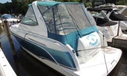 **SALE PENDING**CERTIFIED USED BOAT WITH WARRANTY - LOW HOURS - FRESH WATER BOAT - ALL TYPES OF TRADES CONSIDERED Engine(s): Fuel Type: Gas Engine Type: Stern Drive - I/O Quantity: 2 Beam: 11 ft. 6 in.