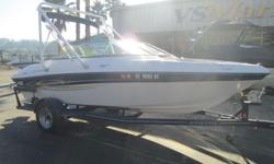 Great boat for a day of everything fun on the water. Call Shawn today for more details (805) 466-9058 or email shawn@vsmarine.com Engine(s): Fuel Type: Gas Engine Type: Stern Drive - I/O Quantity: 1 Draft: 2 ft. 3 in. Beam: 7 ft. 11 in.