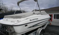 *** W/VOLVO 3.0/BIMINI/BOW//CP COVERS/TRAILER/FRESH WATER *** THIS IS A CLEAN FRESH WATER BOAT FROM GLASTRON BOATS! THIS SPORTY LOOKING RUNABOUT IS READY TO GO! IT IS POWERED BY THE VOLVO PENTA 3.0 135HP ENGINE. THIS IS A BOAT, MOTOR AND TRAILER PACKAGE.
