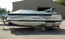 Really clean Hurricane Fundeck 196. This boat is in great shape. This very unique boat is powered by a 135hp Honda four-stroke engine and includes a Trailmaster Trailer. Get on the water today! Trades considered. ELECTRICAL BATTERY BATTERY SWITCH