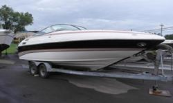 2006 cuddy cabin made by Challenger off shore racing boat company. 25' in Length6.2L MPI mercruiser engine with 173 Hrs. 320 hpBravo III dual prop drive with stainless steel propsKenwood stereo and CD player with remote on the transom and cabin2 Concept