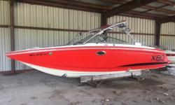 The sheer vastness of MasterCraft's largest-ever wakeboard boat will dominate any water sport you choose to do! Dealer maintained, one owner boat! This twin engine rig is ready for the season! Trades Considered. General Options AUTO FIRE EXT BIMINI TOP