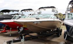This MasterCraft X2 has new trailer, 310 rptx rebuilt engine with 1 year warranty, new 2018 haulrite trailer, clean interior, 2 tower speakers, board racks, bimini, snap out carpet and cover. Nominal Length: 20' Length Overall: 20' Max