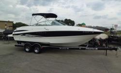 Location: Bolingbrook, IL, US Just reduced $3,000.00 This boat is equipped with a custom Prestige tandem axle trailer, brakes, bimini top, s.s. prop, cockpit carpet, jbl cd player, battery charger, tilt steering, transom remote, battery switch, porti