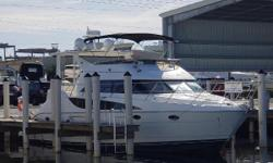 DIESEL POWERED------------TRADES ACCEPTED *******BRING OFFERS******* New Bridge Upholstery-NEW A/C Pumps-NEW Bottom Paint-Both Head Systems Rebuilt, Good condition inside and out, Two Staterooms, 2 Heads, Bow Thruster, Main