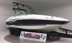 Go to our web site for updated info: midwayautoandmarine. com. Over 75 used family boats in stock. All with warranty. Delivered all over the U.S. and Canada. Only 152 hours!! This thing is huge!! and has a Huge motor! 8.1 Fuel Injected V8 will