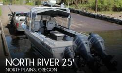 Actual Location: North Plains, OR - Stock #104119 - If you are in the market for an aluminum fish, look no further than this 2006 North River Seahawk 25, priced right at $72,300 (offers encouraged).This boat is located in North Plains, Oregon and is in