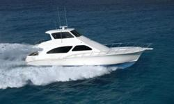 EL SEA,IS IN SHOWROOM CONDITION & RECENTLY UPDATED DESIGNER INTERIOR WITH LOW HOURS!!!!!! Has everything you could want in a CONVERTIBLE SPORT YACHT, and more. Tons of upgrades and most importantly, her engines and generator are serviced