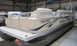 Clean 2006 Parti Kraft with 25 hp Mercury. Has a livewell, Lowrance locator, and Jensen AM/FM/CD/Sirius ready stereo. Add a trailer for $2100 and enjoy the rest of the summer on the water. Beam: 8 ft. 0 in. Depth fish finder; Boat cover; Stereo; Bimini