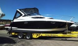 Location: Chicago, IL, US Recently reduced from $89,900 for quick sale! This boat is well maintained equipped with twin 4.3L V-6 engines, vacuflush head, air/heat, two tone hull, gas vapor detector, 110v gas generator, gray water system, transom stereo