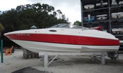 2006 Regal 2400 Bowrider Volvo Penta 8.1L Gi with 375 hp. Only 41.9 original hours! Duo-prop. Bow and Cockpit covers Bimini top Bow boarding ladder for easy beach access Stern shower New dual batteries Enclosed head Stereo Garmin GPS In-dash depth finder