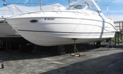 Location: Bolingbrook, IL, US Just reduced !This boat is on consignment, complete with camper enclosure, cockpit cover, cockpit table, tv/dvd, snap in carpet, windlass, lowrance lms-3500, cockpit fridge, microwave, marine radio, c/d player, tilt