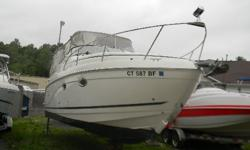 """*** W/VOLVO 5.7 GXI DP/BIMINI-CAMPER/AC/BOW THRUSTER/ *** One of the most popular boats in the Rinker line of boats , is the 270 Express. This boat gives you the feel of a much larger cruiser with it's impressive 9' 1"""" beam. This boat is equipped with all"""