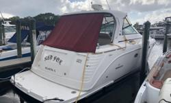 2006 41' Rinker Express Cruiser -- Low Hour Vessel -- Professionally MaintainedTwin Cummins QSB 5.9L Diesels Provide 420HP Each and Offer Excellent Fuel Efficiency and a Great RangeLoaded with Upgrades: Raymarine Electronics Package, Satellite Radio, 10kW