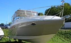 *** W/T-MERC 5.0MPI BIII/BIMINI-CAMPER?GEN/AC/WL/GPS/ *** Here is one of the flagships of the Rinker line of boats! This one is a beauty! Seller is moving up! This is a great opportunity to get into a lightly used fresh water boat with very low hours!