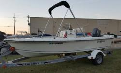 Local owner who takes very good care of his Sailfish. Arnolds Boats has the maintenance records for your review. This 174 Sailfish has been lightly used and has no mechanical issues. Plenty of power with the 90 Yamaha. This 174 will be a good Bay boat and