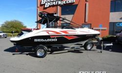 2006 Sea-Doo Speedster Wake 430 HP Payments as low as $194 / mo. * A fully loaded wake boat right out of the box, with enough power and convenience for whatever else youre into. Lake ready boat in great condition. Loaded with options. Featuring: Twin