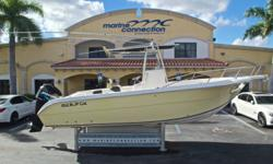 2006 Sea Fox 257 Center Console, Marine Connection: South Florida's #1 Boat Dealer! Cobia, Hurricane, Sailfish Pathfinder, Sportsman, Bulls Bay, Rinker & Sweetwater new boats plus the largest selection of pre-owned boats. View full details and 50 photos