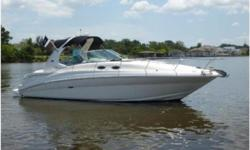 """PRICE REDUCED -- OWNER WANTS THIS TO BE THE NEXT 32' SUNDANCER TO SELL  2006 32' Sea Ray Sundancer """"ESCAPE"""" -- Well Maintained Vessel in Excellent Condition  Loaded with Upgrades: Garmin GPSMap 840XS w/ HD Radar, New A/C System,"""