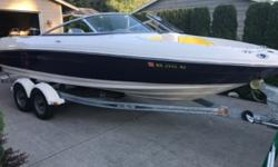 2006 SeaRay 205 Sport Almost new 206 Sea Ray 205 Sport bowrider with galvanized trailer for sale only $23300. This boat is equipped with a Mercruiser V-8 with a little over 200 hours Snap in carpet updated Alpine Marine stereo Swim platform with built in