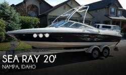 Actual Location: Nampa, ID - Stock #082543 - If you are in the market for a bowrider, look no further than this 2006 Sea Ray 20 Sport 205, just reduced to $19,900 (offers encouraged).This boat is located in Nampa, Idaho and is in great condition. She is