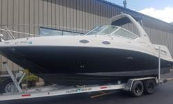 2006 Sea Ray 260 Sundancer! One of the best trailerable Cruisers on the market! Boat, motor and trailer all ready to go! Trades considered. Engine(s): Fuel Type: Gas Engine Type: Stern Drive - I/O Quantity: 1