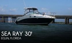 Actual Location: Eglin, FL - Stock #105151 - This vessel was SOLD on August 2.If you are in the market for a cruiser, look no further than this 2006 Sea Ray 270 Amberjack, priced right at $44,400.This boat is located in Eglin, Florida and is in great