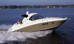 223 Hours on boat Hard Top Camper enclosure Smart Craft gauges/ motors Clean NorthStar 600i GPS Mercury 8.1S HO Low Hours This exciting new 38 Sundancer features a stylish new fiberglass hardtop with aft sunshade, overhead lighting and stainless-steel