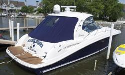Pristine Condition, All The Bells And Whistles, Bow Thruster, Stern Thruster, Hardtop, Cockpit A/C, Sat TV, Full Electroni Teak Cockpit, Cherry Wood Interior, Blue Hullsides, This 44 Is MINT!'Hard Eight' is the cleanest, best equipped 44DA available. This