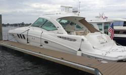 ****FRESH PHOTOS & PRICE REDUCTION AUGUST 2014***2006 48' Sea Ray Sundancer -- Immaculate White Hull Vessel kept in Fresh Water Most of Her LifeLightly Used with Only 400 Original Hours on Twin Cummins QSC-540 Diesel Engines!!Loaded with Upgrades